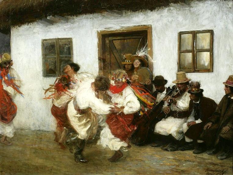 """""""Kolomeyka"""" 1895 by Teodor Axentowicz (1859 - 1938)"""