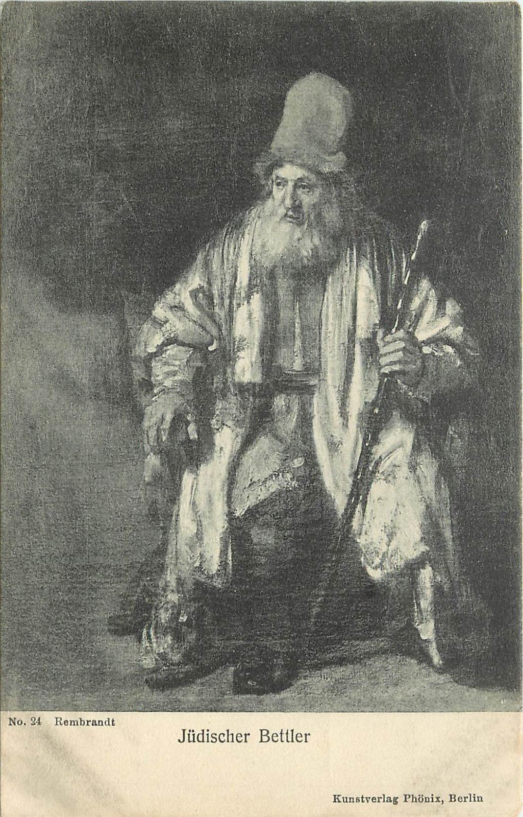 JewishBeggar by Rembrandt